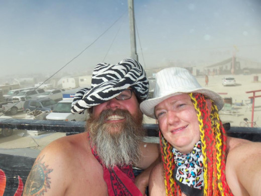Cheers from Burningman 2013.