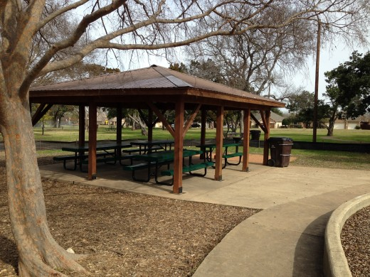 Cat Hollow Park Round Rock TX - Picnic Pavilion