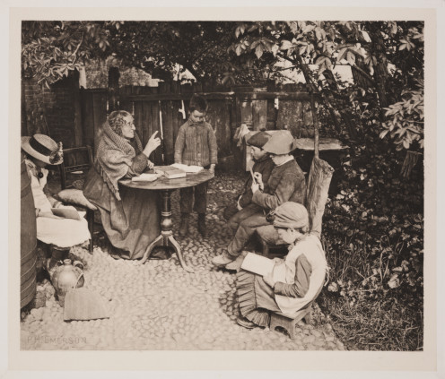 'A Dame's School'. Collection of National Media Museum/The Royal Photographic Society (Peter Henry Emerson)