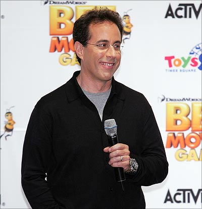 Jerry Seinfeld not only arrogant, but smug too