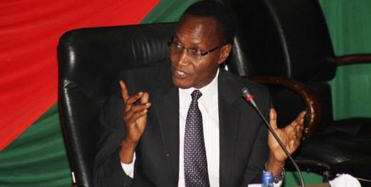 Kenya's Education Cabinet Secretary. Prof Jacob Kaimenyi