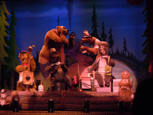 "Film critic Sean O'Connell described The Country Bears movie by saying: ""It's not 'terrible filmmaking' bad, but 'I once had a nightmare and it's coming true' bad."""