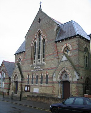 Carey Baptist Church, Reading