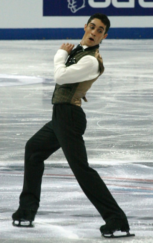 Three-time European Champion and two-time World Bronze medalist Javier Fernandez of Spain