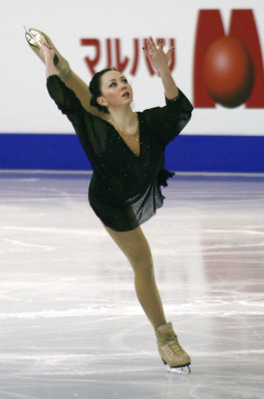 Elizaveta Tuktamisheva of Russia at the 2014 - 2015 Grand Prix Final. Used via: https://creativecommons.org/licenses/by-sa/4.0/deed.en