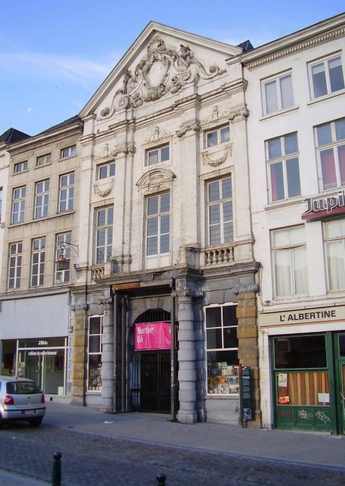 Galerie Bortier / Bortiergalierij, rue de la Madeleine / Magdalenastraat, Brussels