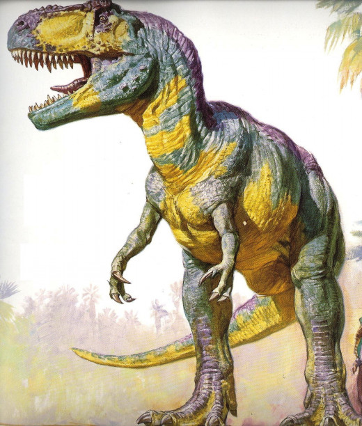 Unlike Jurassic World, this Giganotosaurus was an all-around good guy. And could talk. And was considered King of the therapods in its territory.