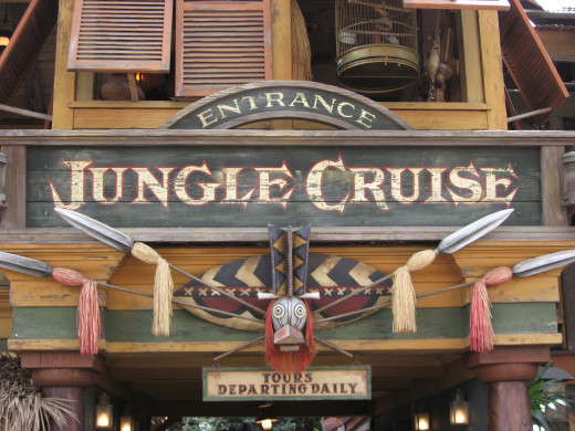 Climb aboard the Jungle Cruise and let your skipper be your guide.
