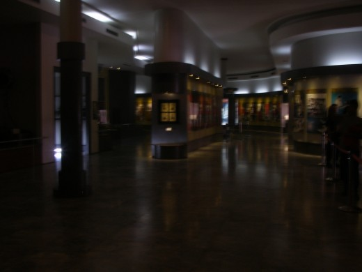The museum section of Gedung Merdeka