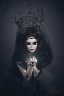 Do fairy witches actually work with real-life fairies or simply the memory of them?