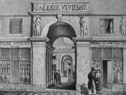 The Galerie Vivienne during the Bourbon restauration : 8 rue Vivienne, Paris 2nd arr.
