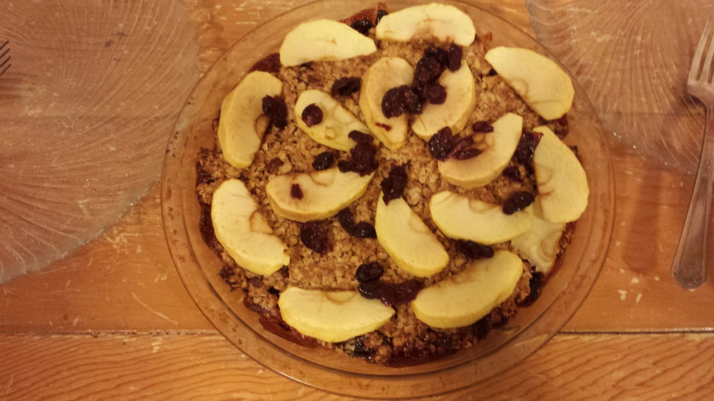 Cran-Apple Nut Crumble