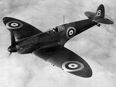 19 squadron Spitfire 10 July 1940