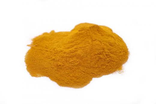 Turmeric powder.  Considered one of the healthiest spices on the planet, it does have an issue with bioavailability and absorption of the critical curcuminoid compounds upon ingestion.