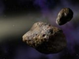 A perfectly harmless asteroid, ready for you to visit!