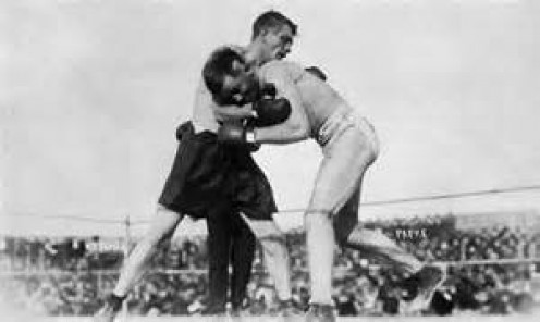 Billy Papke and Stanley traded blows and bad blood during their series of bouts which were bruising affairs to say the least.