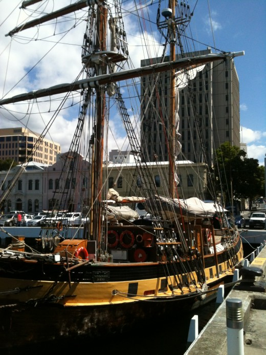 Just a short walk from Salamanca Place is the Hobart Waterfront