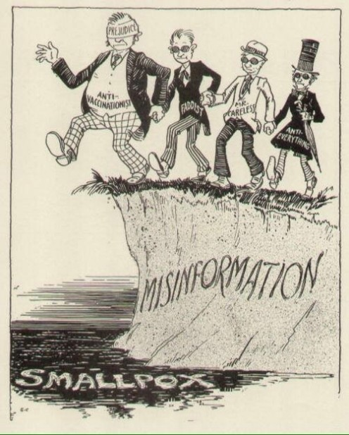 This cartoon is from the 1930s.