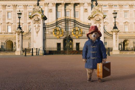 Ben Whishaw as Paddington, Buckingham Palace (Background)