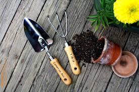 Organize garden tool storage