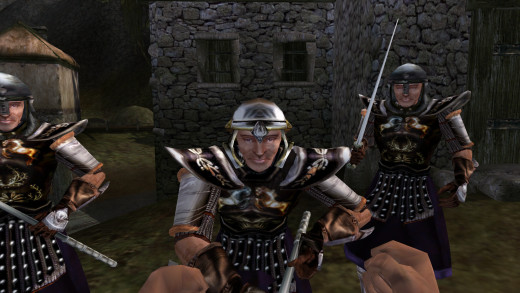 Combat in Morrowind gets better for many character types later on, but even then it is still poor.