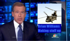 Why is Brian Williams' lie about being in a helicopter when it was hit by an RPG a big deal?