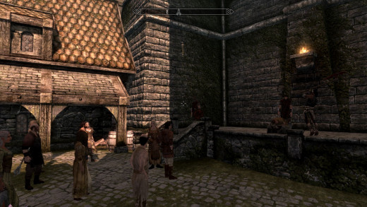 Skyrim's biggest upgrade for immersion lovers was probably its inclusion of events, such as this execution in the city of Solitude.