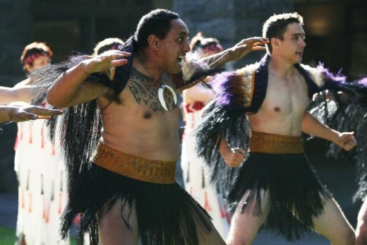 The Haka is part of many NZ traditions