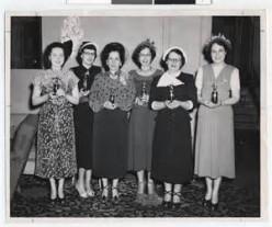 Ladies bowling team