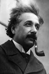 Einstein.  He struggled to understand all of the forces of the universe in his Unified Field theory.  But he couldn't bring it all together before his death.  Looks like his barnet has escaped!