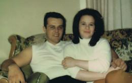 Hubby and I many years ago
