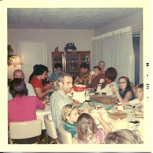 Christmas gathering 1967