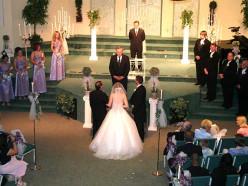 Beautiful marriage ceremony