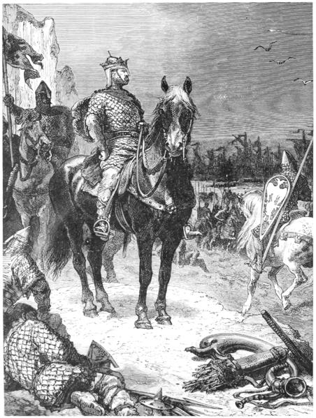 William the conqueror – late 1800s engraving.
