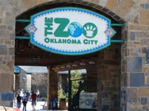 Oklahoma City Zoo entrance