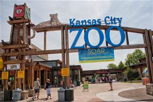 Kansas City Zoo visitor entrance