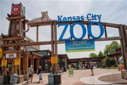 Kansas City Zoo visitor entrance