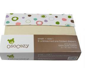 OsoCozy Prefold Diaper