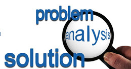 Assess and analyze the problem and find workable solutions