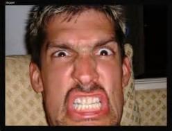A guy's frustration breeds anger