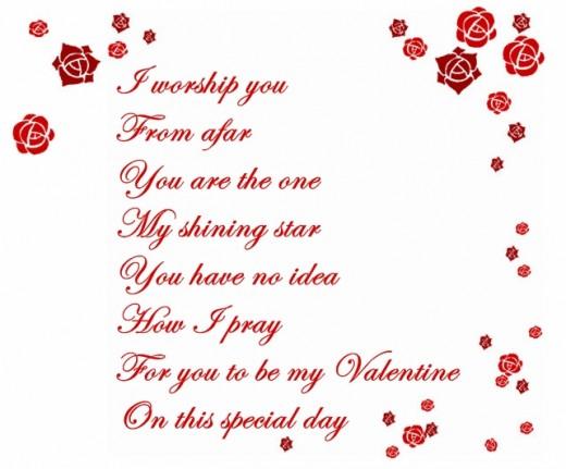 Valentine Poem