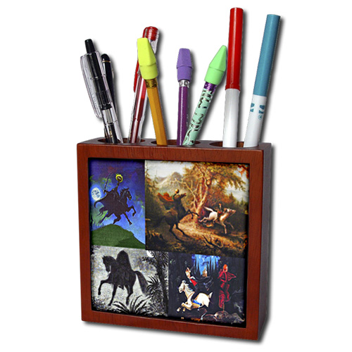 Scroll down near the bottom of the page until you find the Sandy Mertens Vintage Halloween Designs page. Open that up and you will find this pen holder along with many other vintage designed ones for Halloween.