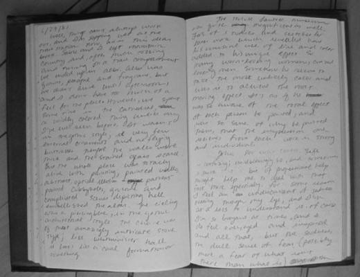 Jennifer Egan's diary.