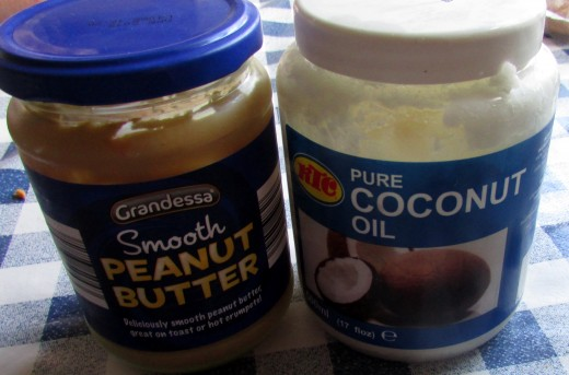 Smooth Peanut Butter and Coconut Oil