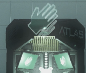 The Exo Reload icon looks like a hand moving quickly.