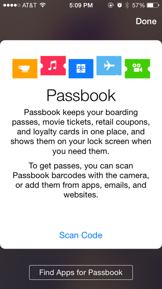 How to create a passbook business card hubpages passbook app screenshot colourmoves