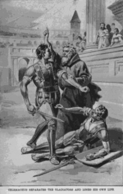 The Martyrdom of Saint Telemachus