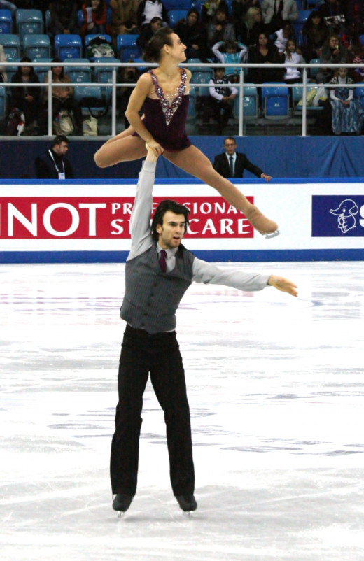 Reigning Grand Prix Final Champions Meagan Duhamel and Eric Radford of Canada.