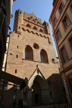 Frontage of Notre-Dame du Taur, Toulouse