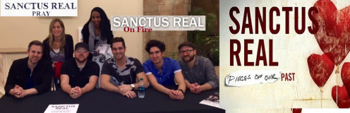 Award winning group Sanctus Real Shown with Freelance Journalist Emunah La-Paz, and personal trainer Suzanne /T.W.